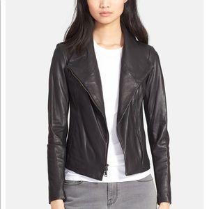 Vince Scuba Leather Jacket